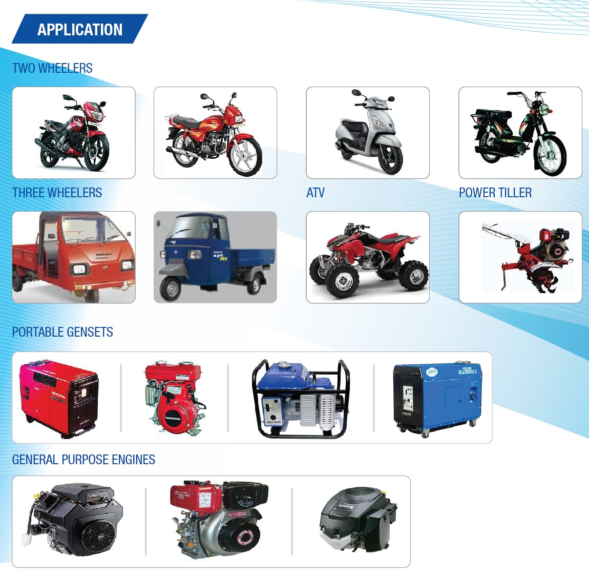 products | INDIA NIPPON ELECTRICALS LTD